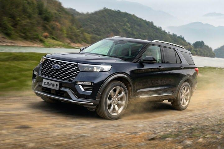 Ford tung Explorer Trung Quốc với thiết kế khác biệt, giá chỉ bằng nửa bản nhập - Ảnh 6.