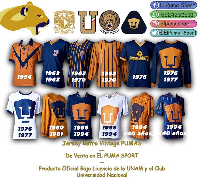 El Puma Sport, Bajo Licencia de la UNAM y PUMAS ®: Jersey Pumas ...