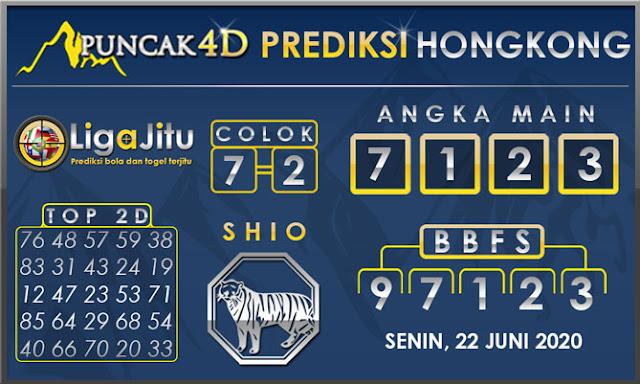 PREDIKSI TOGEL HONGKONG PUNCAK4D 22 JUNI 2020