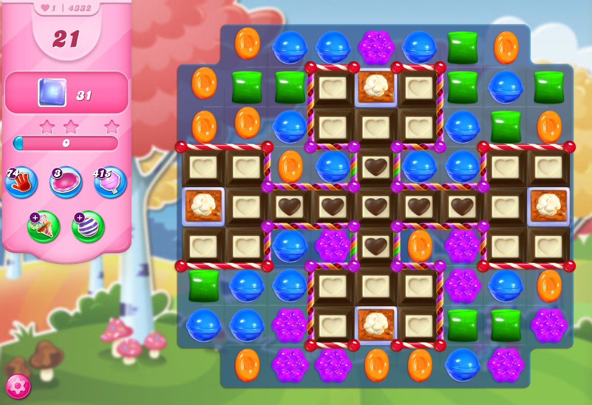 Candy Crush Saga level 4332
