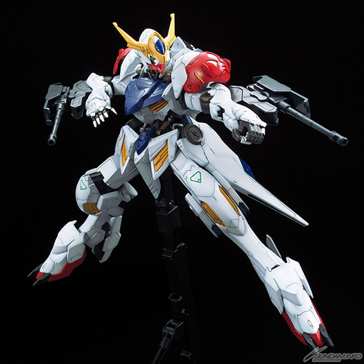 1/100 Full Mechanics Gundam Barbatos Lupus - Release Info, Box Art and Official Images