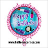 Balon Foil Bulat Motif HAPPY BIRTHDAY / Balon Foil Bulat HBD (12)