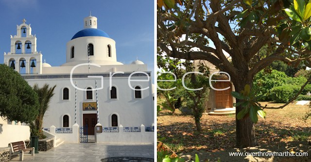 Travel to Greece: How to pack and what to bring including essential oils