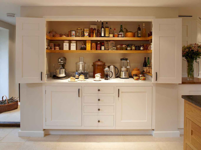 lever DIY Storage Organizing Ideas for Small Kitchen