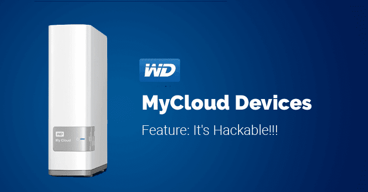 Critical Unpatched Flaws Disclosed In Western Digital 'My Cloud