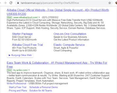 Cara Terbaru Mengaitkan Adsense Dengan Google Custom Search Di Blogger