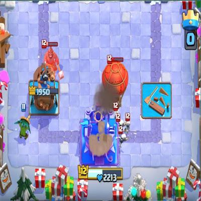 Kartu Clash Royale Dengan Target Bangunan
