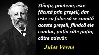 Maxima zilei: 8 februarie - Jules Verne