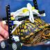 Με ένα LEGO καροτσάκι έγινε καλά μια τραυματισμένη χελώνα