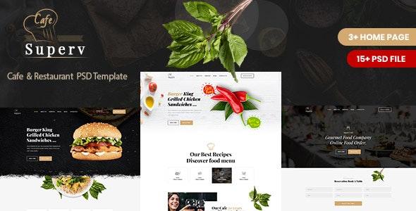 Restaurant PSD Template