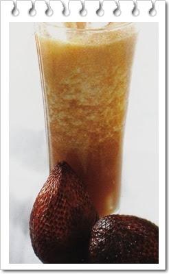 Cara membuat jus buah salak dan manfaatnya