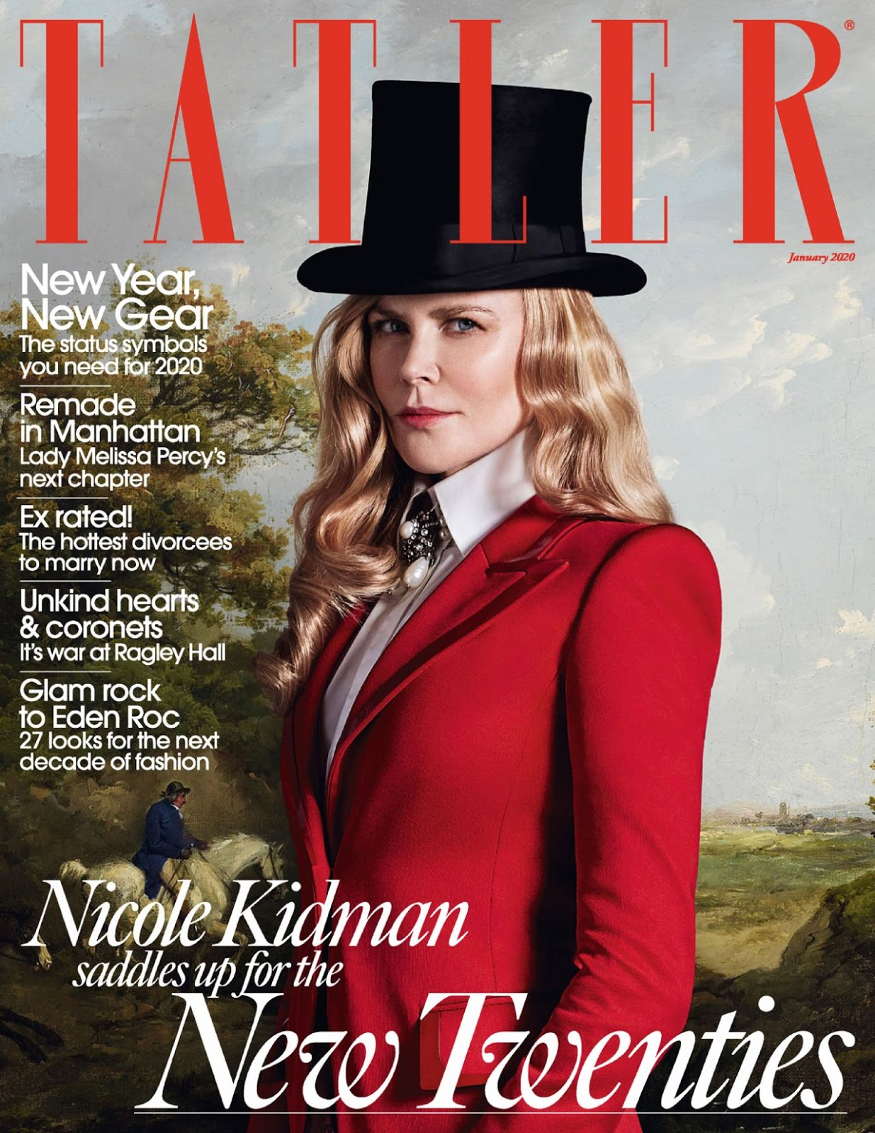 Nicole Kidman steps into 2020 with a glamorous shoot for Tatler UK