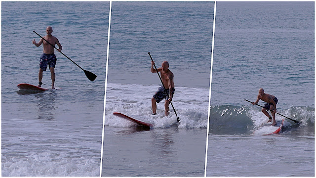 Surfing at Neuvo Vallarta...