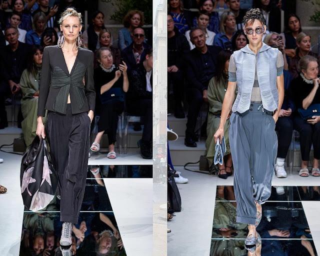 Модные брюки весна-лето 2020 0-4