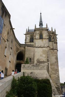 Ingresso al Castello Reale di Amboise