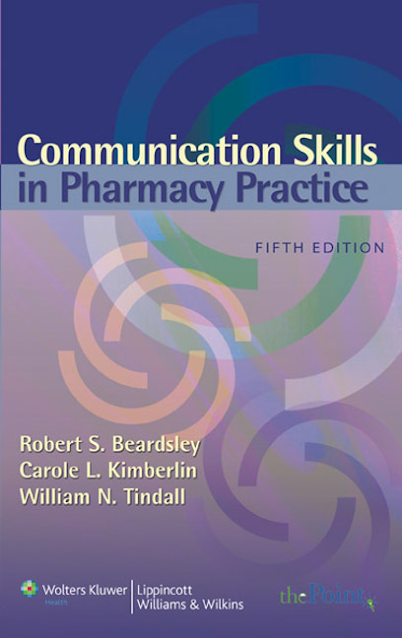Communication Skills in Pharmacy Practice pdf free download