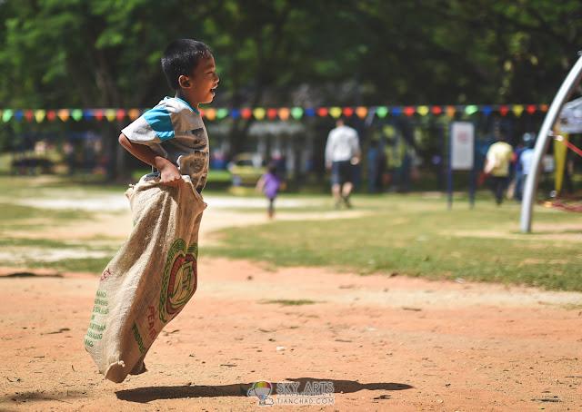 The Sack Race @ Taman Tasik Shah Alam