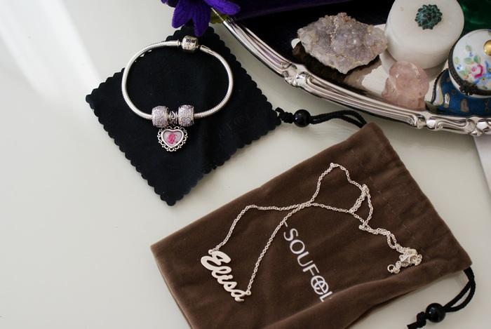 soufeel charm bracelet luxury francinesplace