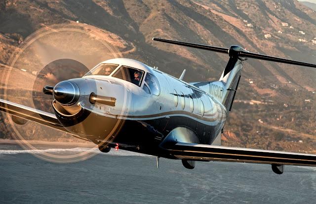 pilatus pc-12ng inflight