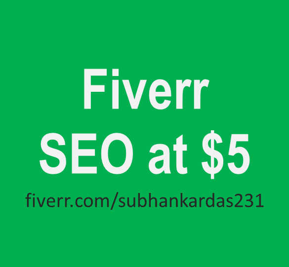 Fiverr SEO Service at $5