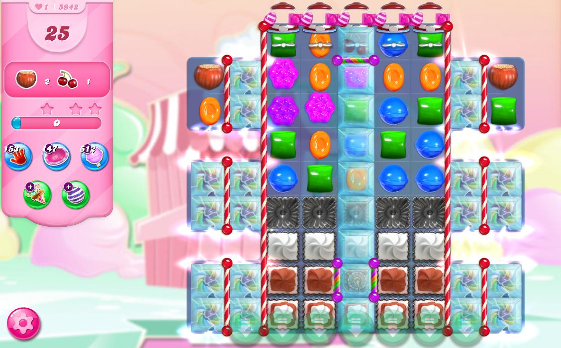 Candy Crush Saga level 5942