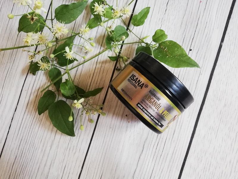 Isana maska do włosów z olejem arganowym