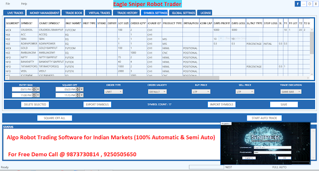 Which is best auto trading software for nsemcx?