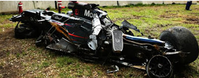 coche alonso accidente 2003