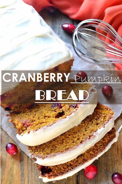 Cranberry Pumkin Bread #bessert #breakfast