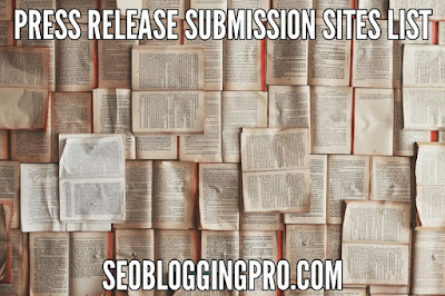 Best Free Press Release Submission Sites List