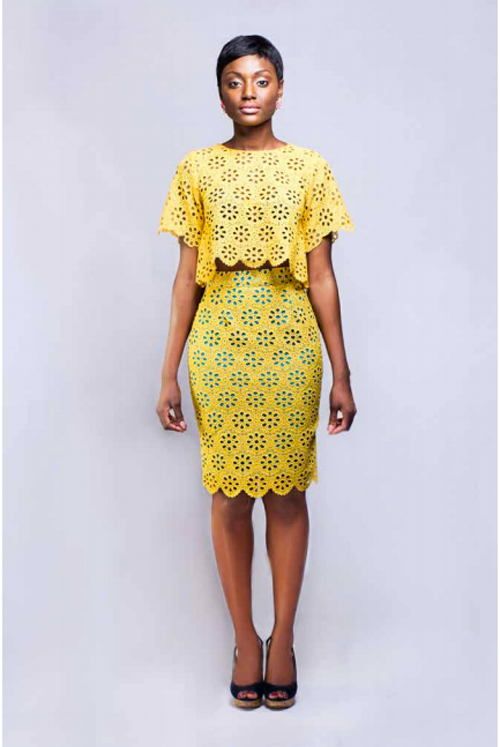 "Bello Edu Spring/Summer 2014 ""The Bloom"" Collection  #ciaafrique #africanfashion #Ghana"
