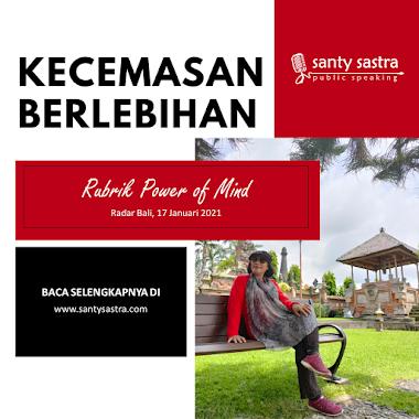 Rubrik Power of Mind Radar Bali : Kecemasan Berlebihan