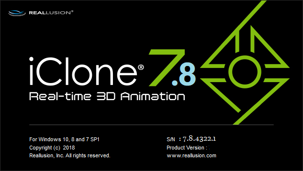 REALLUSION IClone Pro 7.8.4322.1 FULL VERSION