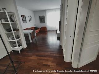 veduta del soggiorno - Grosseto Invest di Luigi Ciampi👈 5 VANI - VENDITA GROSSETO - gorarella
