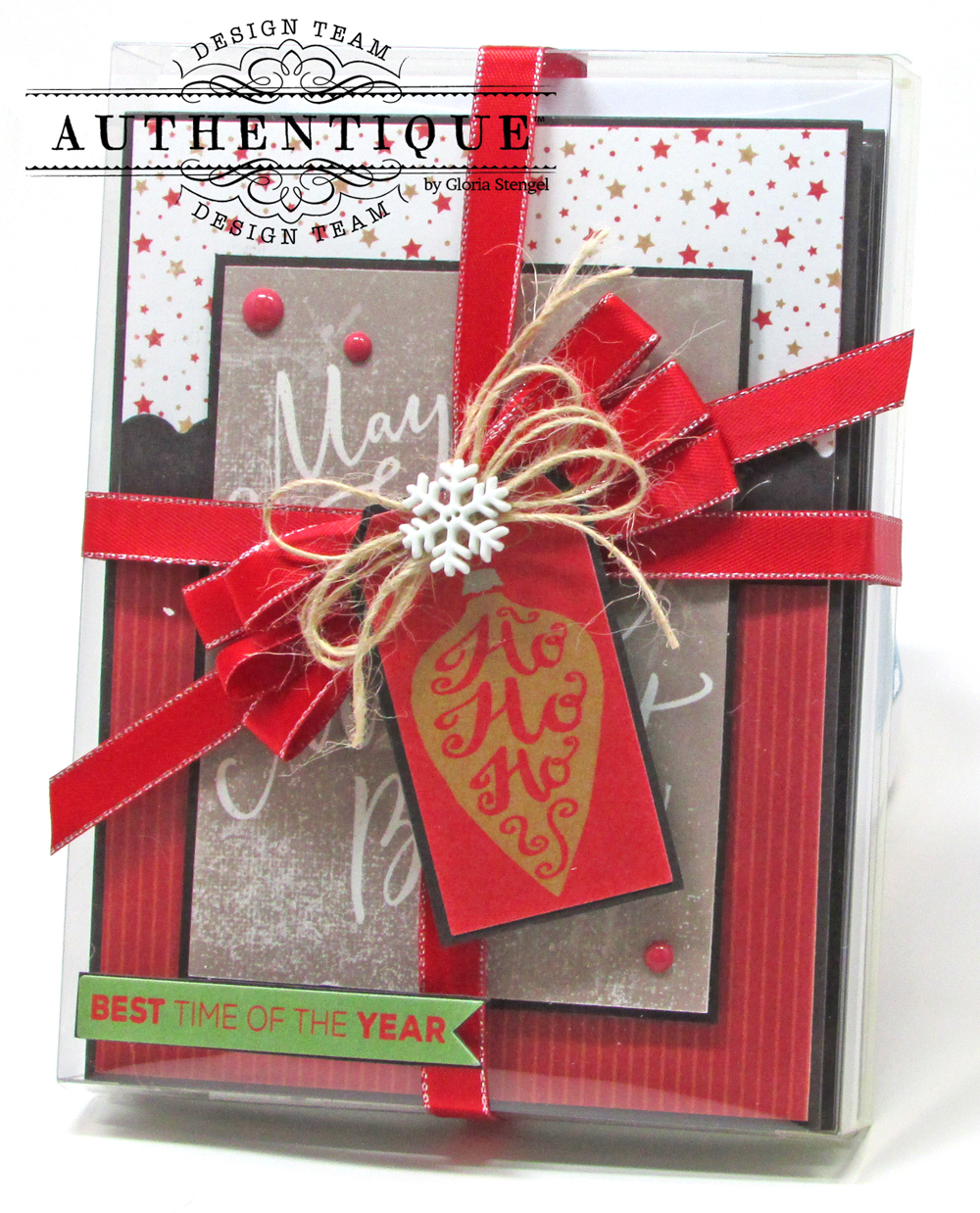 mail them out in time i am here to help you get a jump start on your christmas cards by using the pre printed images and stickers from the authentique
