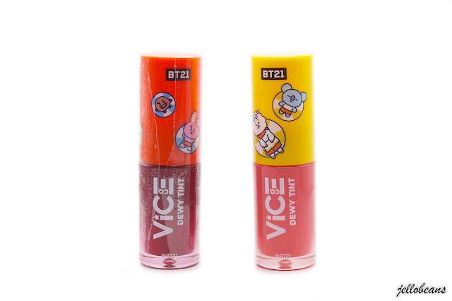 Sneak Peek: Vice Cosmetics BT21 Dewy Tint