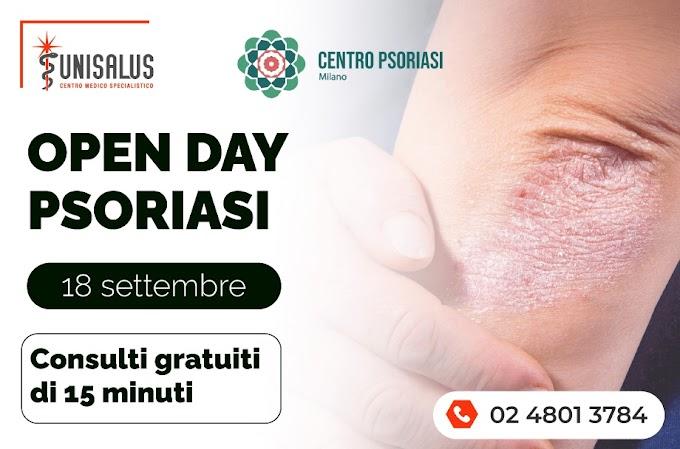 Come affrontare la psoriasi? Sabato 18 settembre a Milano un open day gratuito per parlarne con gli esperti