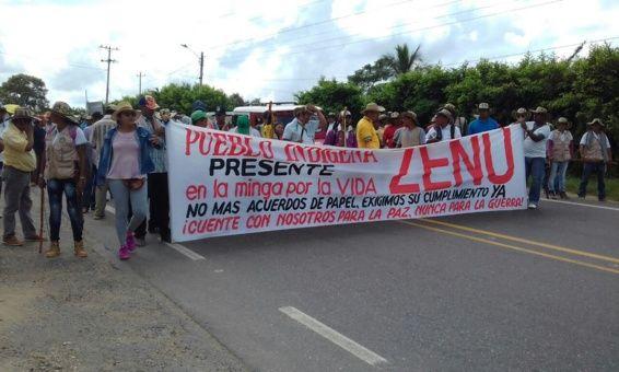 Paro nacional indígena en Colombia suma seis días