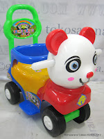 1 SHP Panda Odong-Odong Ride-on Car
