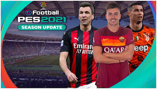 Download PES 2021 PPSSPP CV8.1 English Version New Update Full Latest Transfer (February) & Best Real HD Face
