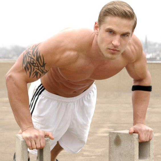 Steve kuchinsky first model male muscle
