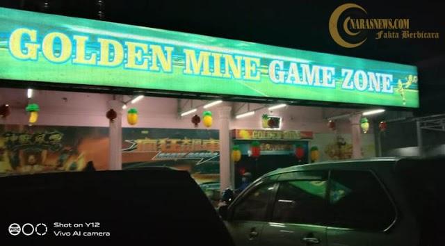 Gelper Golden Mine Game Zone Abaikan Protokol Kesehatan dan Terindikasi Langgar Perizinan