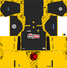 AEK FC UCL Kits 2018/2019 - Dream League Soccer
