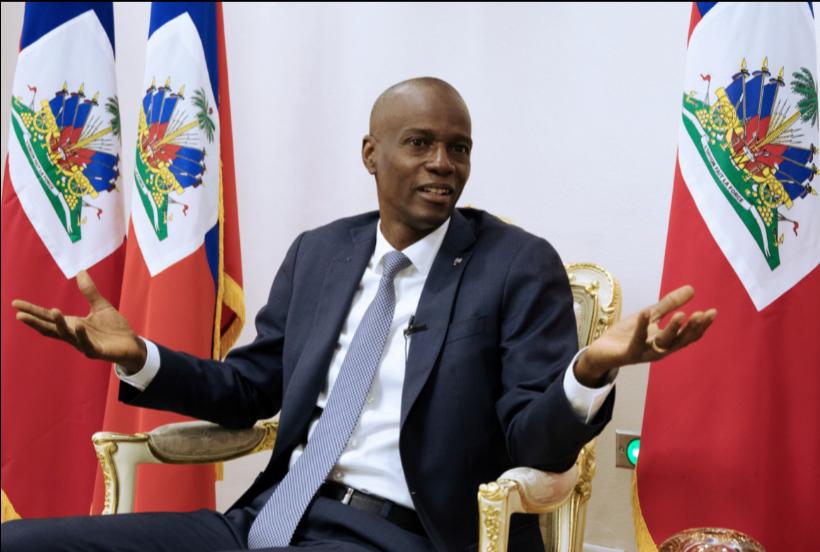 Jovenel Moise gobernó Haití desde 2016 y hace un año lo hacía sin Congreso /  VOA
