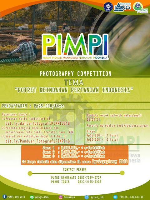 LOMBA FOTOGRAFI PIMPI 2018