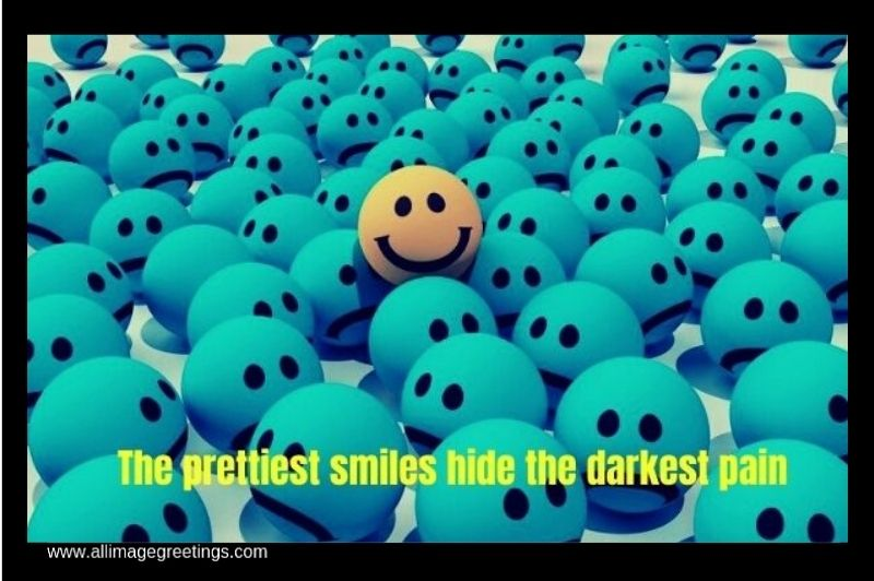 quotes on smile and pain