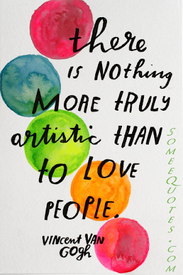 love quotes by Vincent Van Gogh