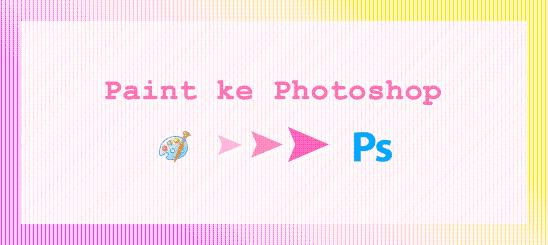 cara memindahkan foto dari Paint ke Photoshop