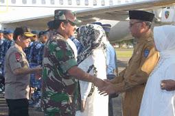 Nurdin Abdullah Temani Hadi Tjahjanto dan Tito Karnavian Safari Ramadhan di Sulsel