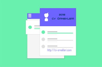 CV Örnekleri İndir 2018 Güncel CV Örnekleri